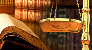 Legal scales and books
