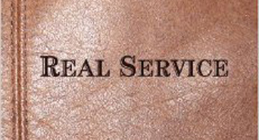 Real Service partial book cover