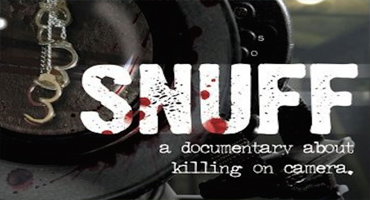 Snuff: A Documentary About Killing on Camera partial movie poster